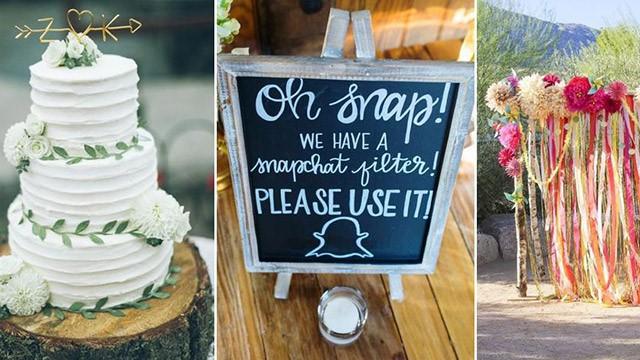 Novi zabavni trendovi za vjenčanje u 2017.